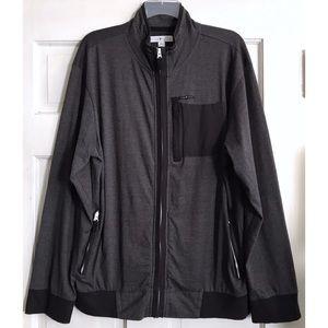 MENS Lightweight Zip Front Shirt Jacket